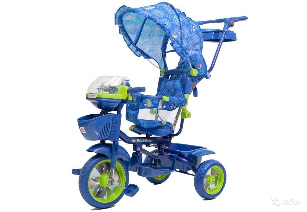Объявление Новый трехколесный велосипед Малыш -750501 (робот) (