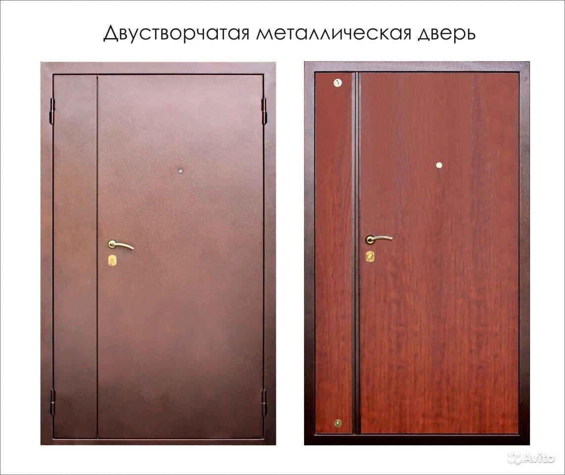 распашные стальные двери цена