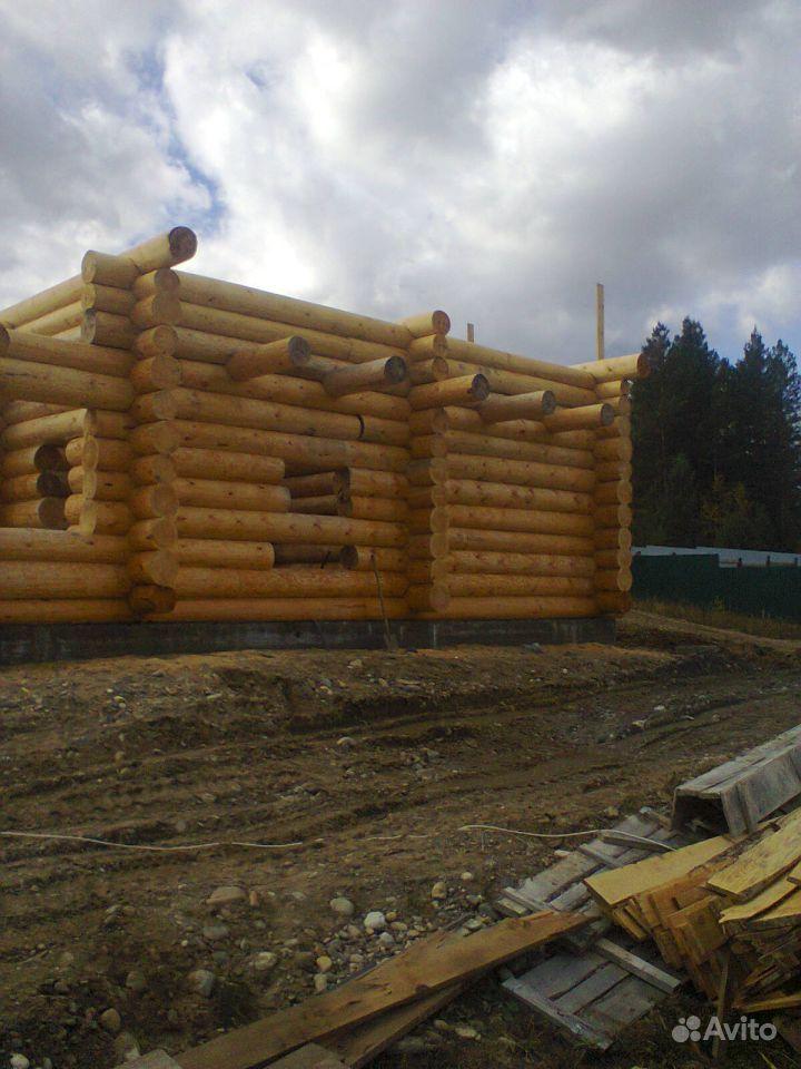 Строим дома из круглого леса