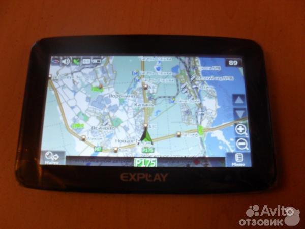Навигатор Explay 935 на навителе. Навигатор Explay PN-945 в Санкт-Петербур