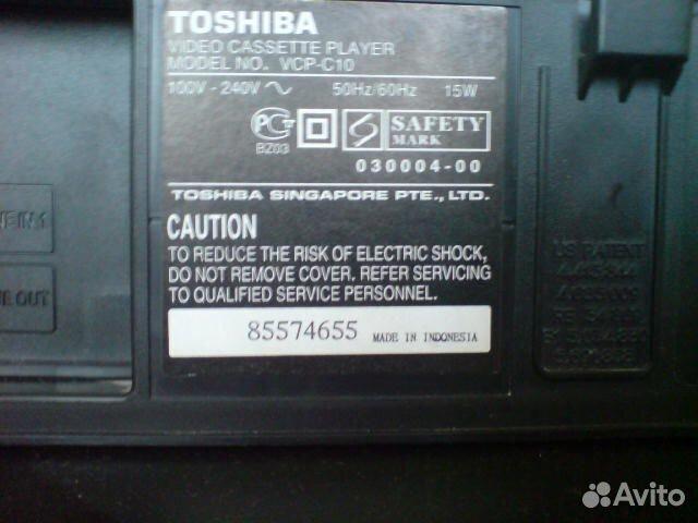 Toshiba VCP-C10 — фотография №