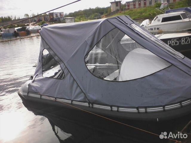 купить ходовой тент на лодку гладиатор