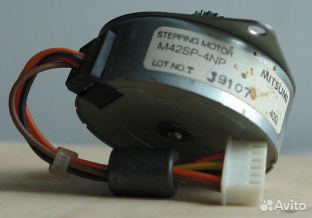 Шаговый мотор от принтера