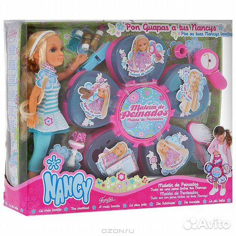 Кукла нэнси с набором дизайн студия для