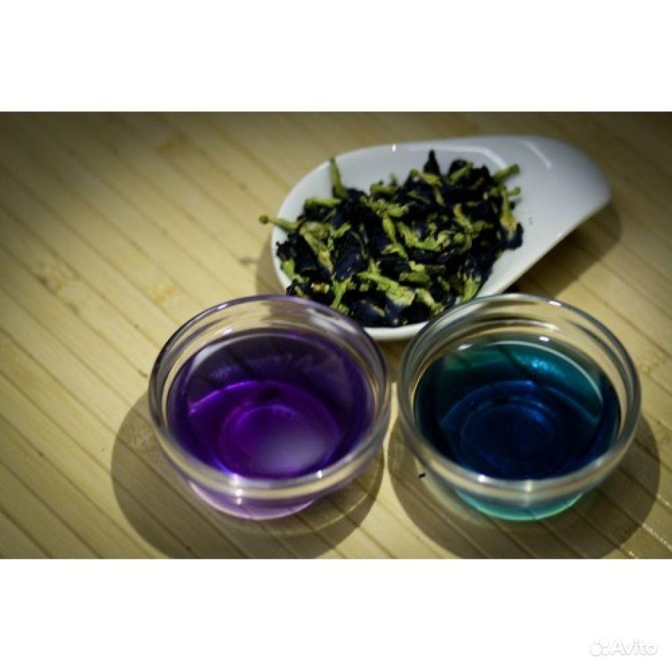 синий чай из тайланда цена