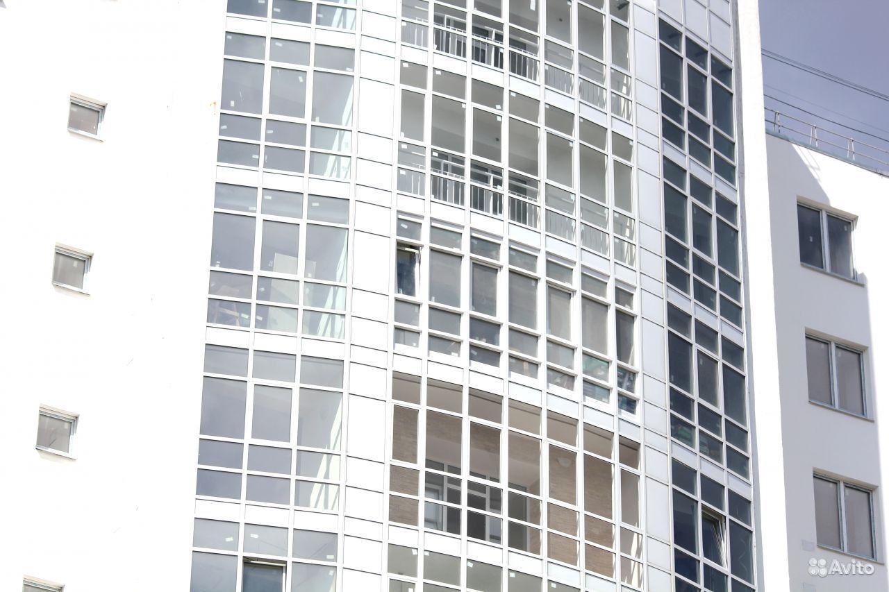Остекление балконов в новостройке..