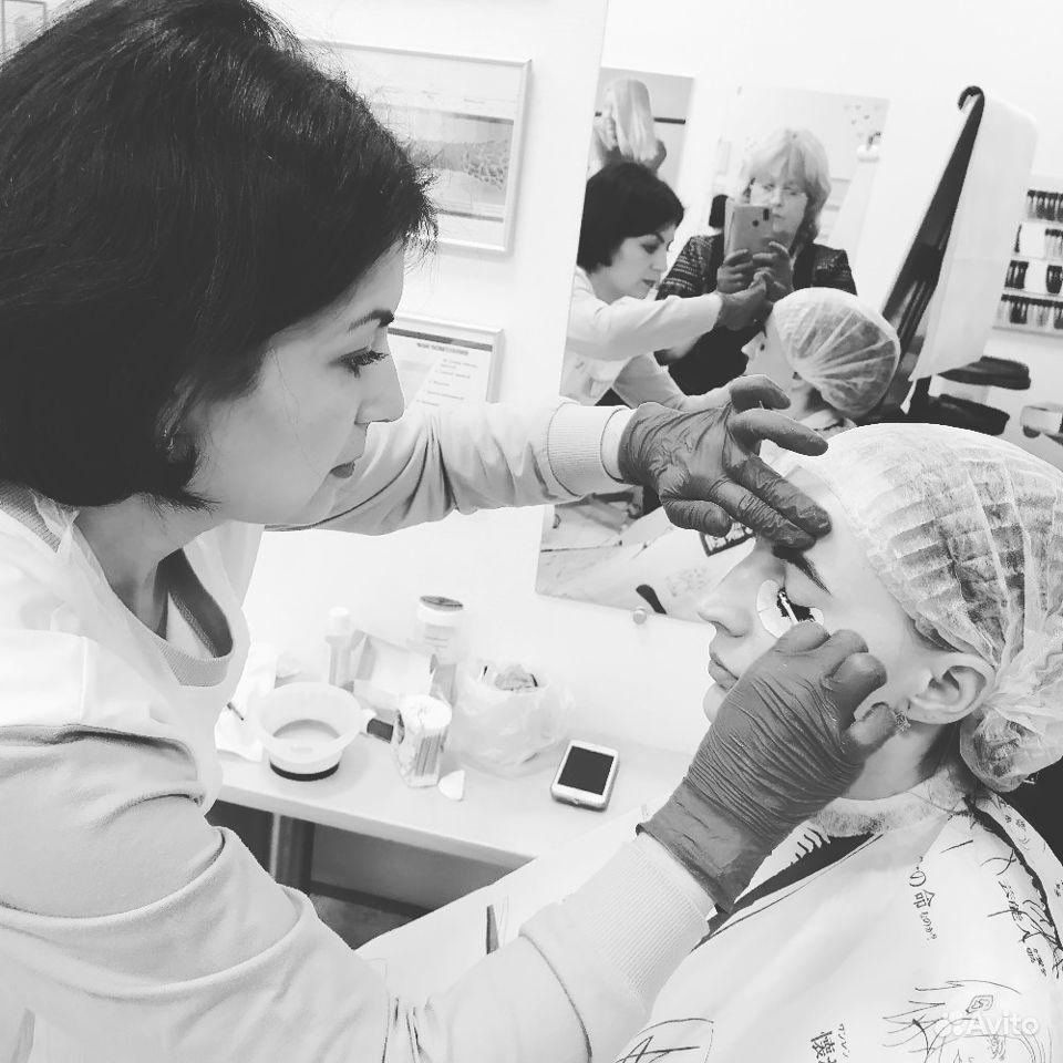 Коррекция бровей,окрашивание бровей и ресниц купить на Вуёк.ру - фотография № 1