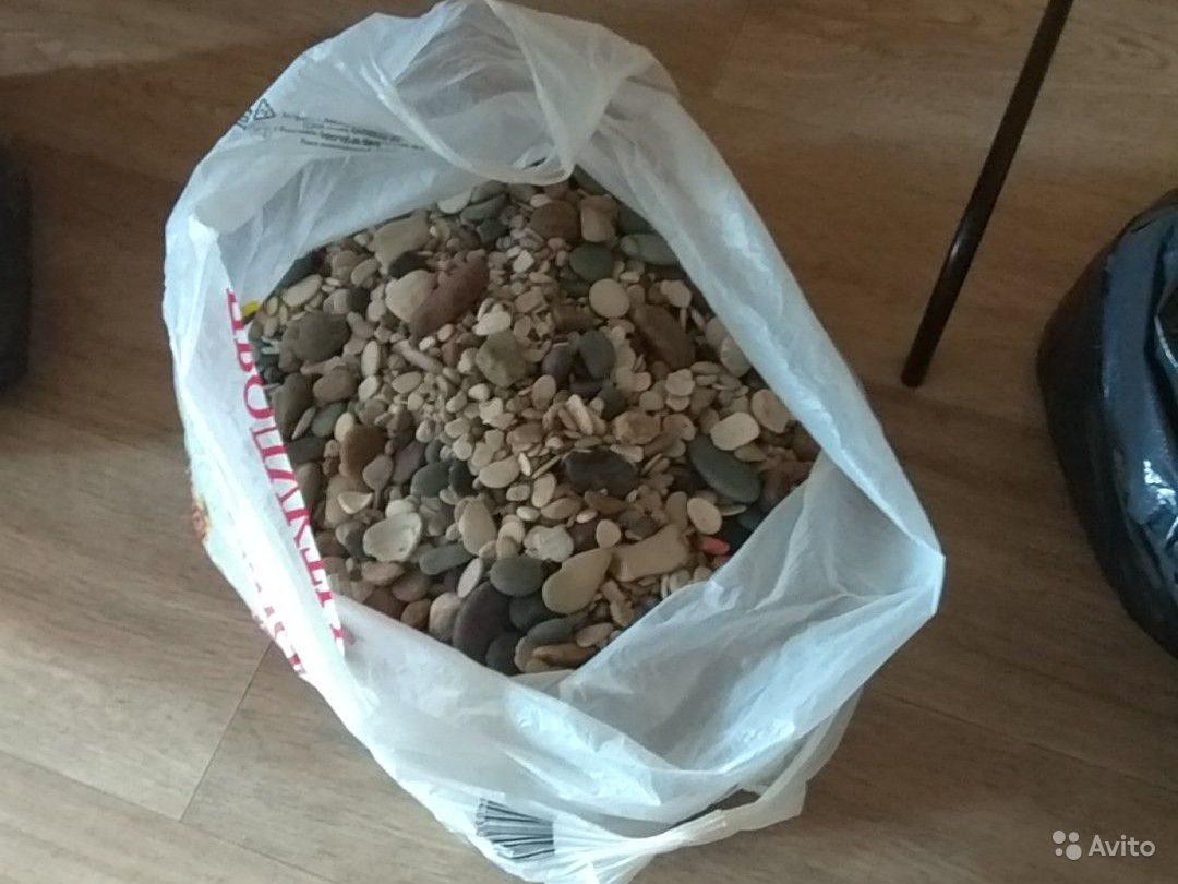 Камни и грунт для аквариума. около 40 кг купить на Зозу.ру - фотография № 4