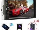 Bluetooth магнитола с камерой новая