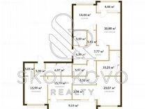 4-к. квартира, 155 м², 17/17 эт.