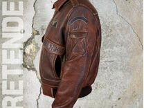 8db80610ebf8 Куртка мужская из стираной кожи буйвола
