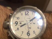 633f2779a90f Часы мужские Parnis, 50мм, хронограф, кварц, б у