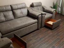 Угловой диван плюс кресло