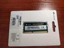 Модуль памяти corsair DDR3 4Гб 1333 SO-dimm