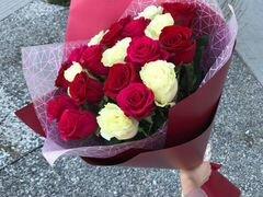 Цветы Букет Розы