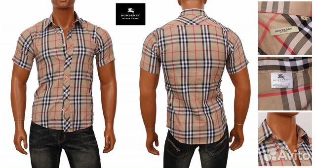 c8a7d2f941a2 Рубашка с коротким рукавом Burberry купить в Санкт-Петербурге на ...