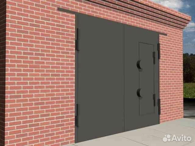 самара изготовление ворота для капитального гаража