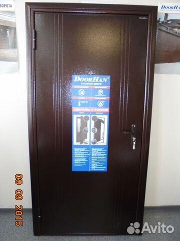 дверь стальная новая