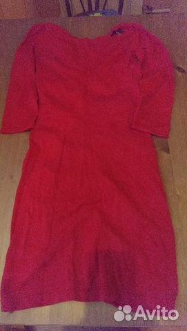 Love republic красное трикотажное платье
