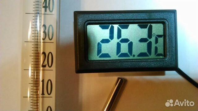 Девайс для отображения температуры с термодатчика