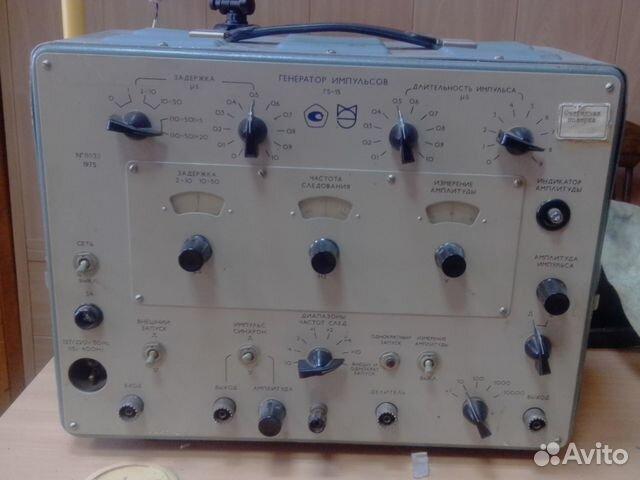 Схема генератора г5-15