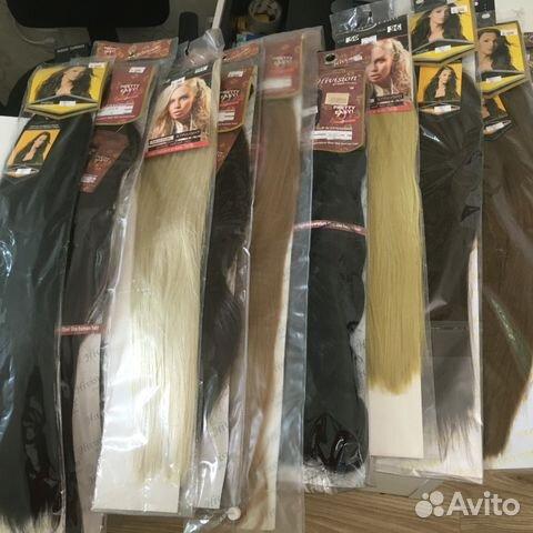 Искусственные волосы на заколках купить