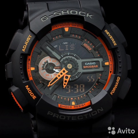 постигла вас новые часы g shock волевых мужественных парней