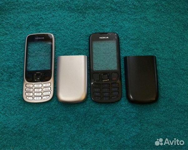 Корпус Nokia 6303 черные и серебро с клавиатурой fd0de7b670830