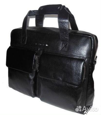 ba951605a183 Мужская кожаная сумка портфель Lux -А4-Деловая купить в Москве на ...