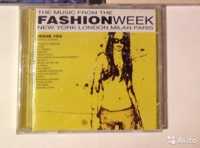 The music from the fashion week, 2 диска— фотография №1