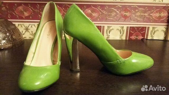 Туфли зеленые лак   Festima.Ru - Мониторинг объявлений aa665c2f861