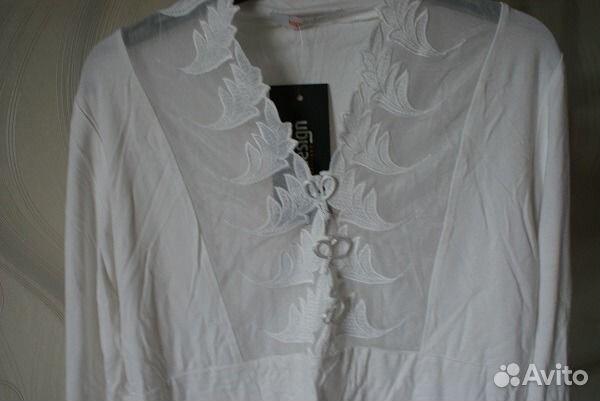 Блузка белая новая 89539290644 купить 2
