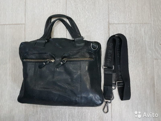 9d3fdbfbcae9 Dr. Koffer мужская кожанная сумка | Festima.Ru - Мониторинг объявлений