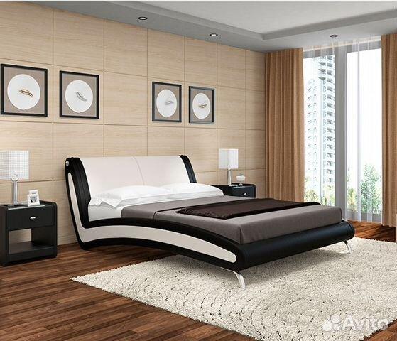 11bc2f5cd9291 Кровать мягкая Мальта | Festima.Ru - Мониторинг объявлений