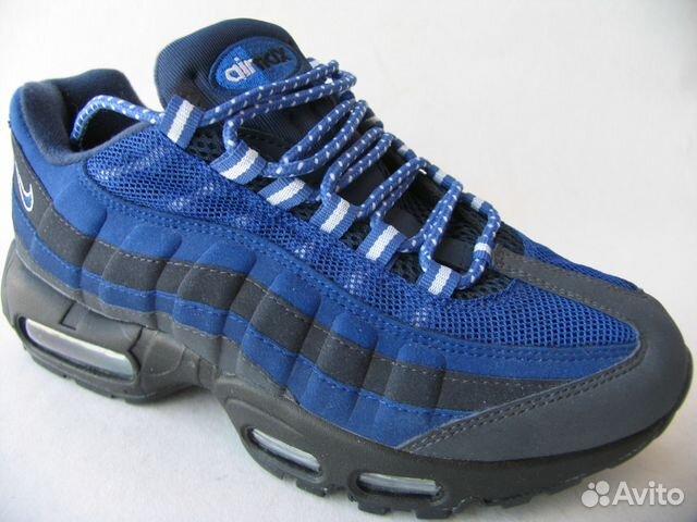 92accb41 Кроссовки Nike Air Max 95 синий с черным 42 | Festima.Ru ...