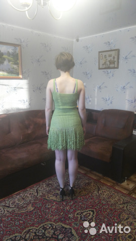 Вязанное платье 89038224475 купить 3