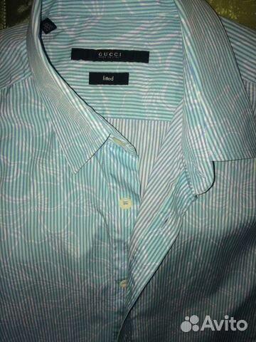 2fc64d6c15c1 Мужская рубашка Gucci купить в Москве на Avito — Объявления на сайте ...
