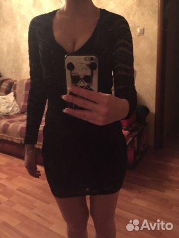 aa72c3fdf7a Маленькое чёрное платье изумрудное платье купить в Москве на Avito ...