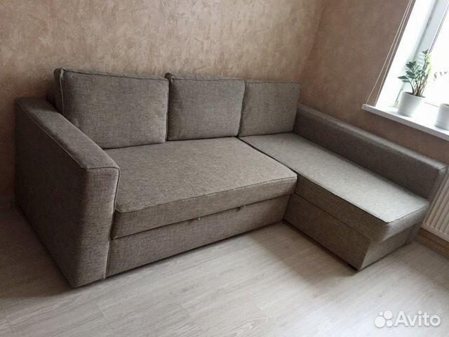диван угловой Manstad Ikea доставка и сборка купить в