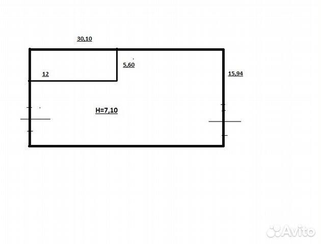 Складское помещение, 480 м² купить 3