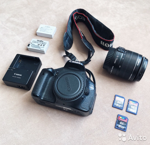 Фотоаппарат Canon 600D 89507618992 купить 1
