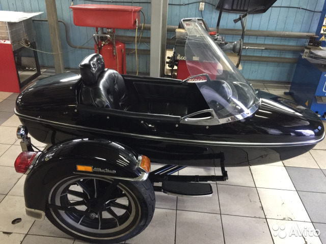 Коляска Harley Davidson sidecar купить в Санкт-Петербурге на