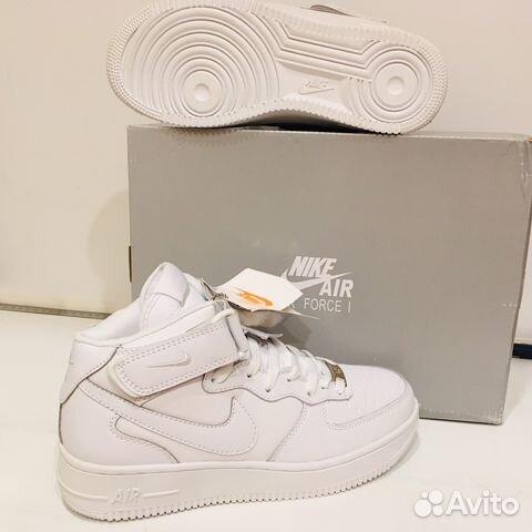 57137915 Кроссовки Nike Air Force 1 White (зима)*(новые) | Festima.Ru ...
