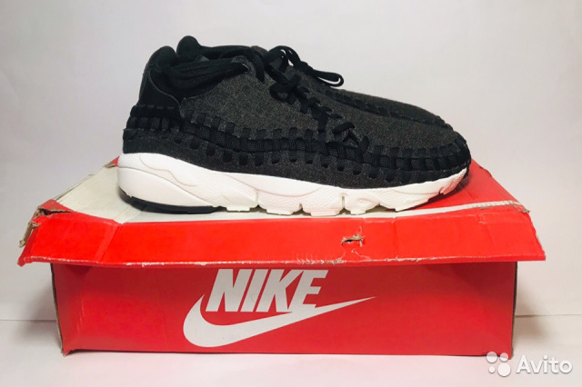 purchase cheap 4b009 e47dc Кроссовки Nike Air Footscape Woven Chukka SE Black— фотография №1