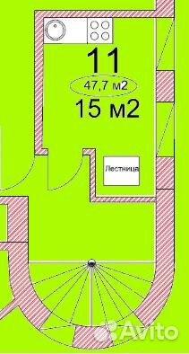 Продается двухкомнатная квартира за 3 040 000 рублей. Москва, Никольско-Архангельский проезд.