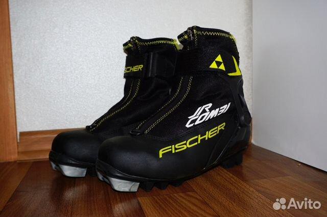 812c5358fc0c Ботинки для беговых лыж детские Fischer Jr Combi— фотография №1