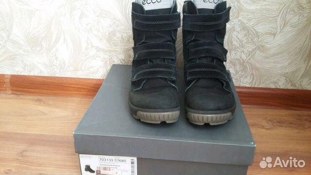Зимние ботинки ecco. 39 р-р  a6ecb0b28330a