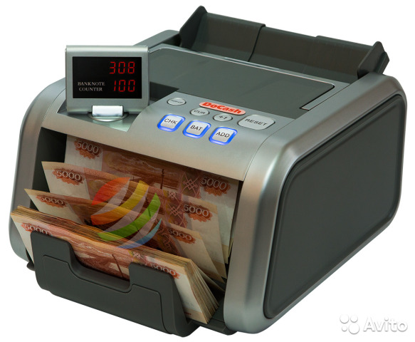 Купюросчетная машинка DoCash 3050 SD/UV купить 1