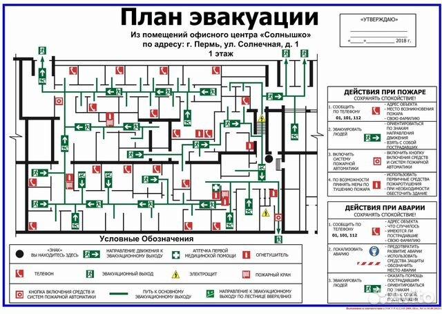 План эвакуации нефтебазы фото