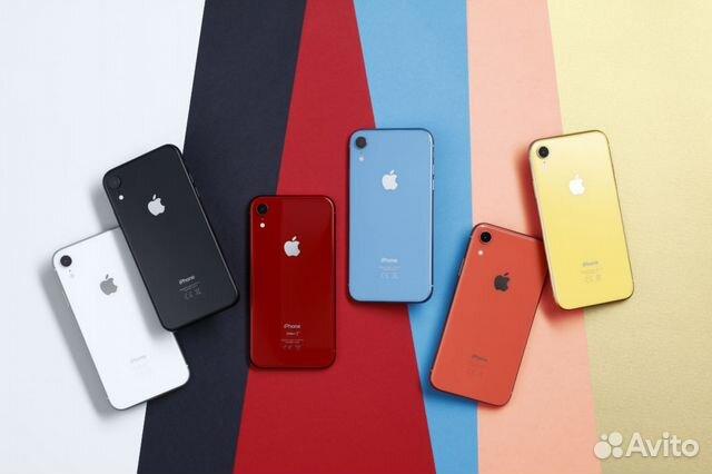 расцветки iphone xr